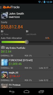 ZuluTrade - screenshot thumbnail