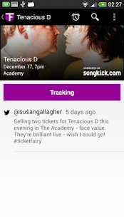 TicketFairy- screenshot thumbnail