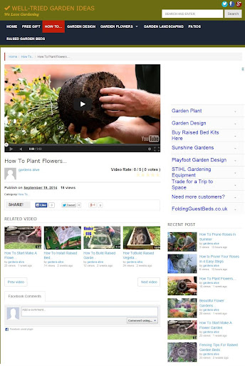 Top Gardening Video Collection