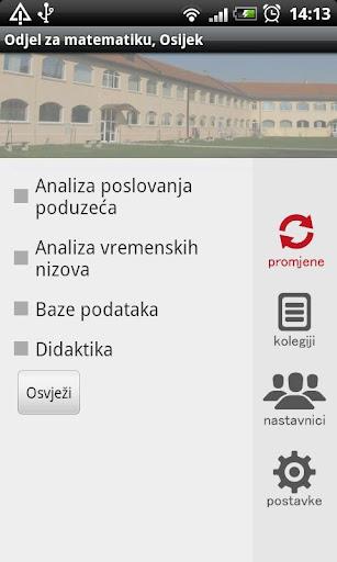 Odjel za matematiku Osijek