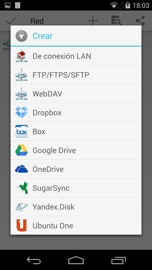 File Manager HD (Explorer) - screenshot