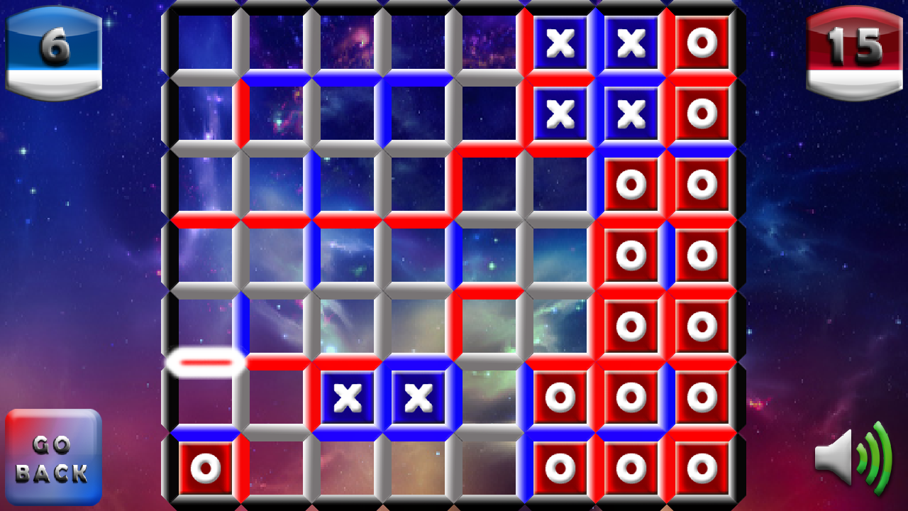 IOX Dots and Boxes - screenshot