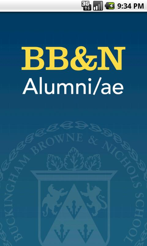 BB&N Alumni/ae Mobile- screenshot
