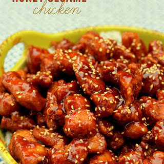 Honey Sesame Seed Chicken