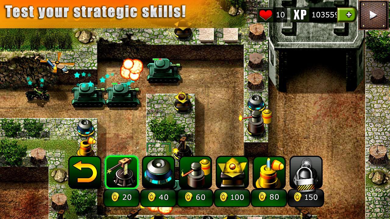 Оборона бункера играть онлайн бесплатно