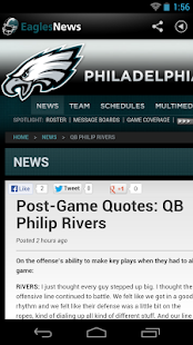 Eagles News - screenshot thumbnail