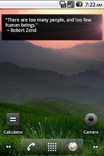 Daily Quote Widget- screenshot thumbnail