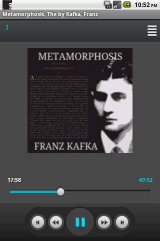 Audio Book: The Metamorphosis