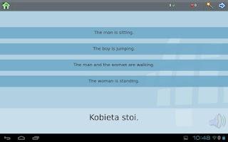 Screenshot of Z_L-Lingo Learn Polish HD Free