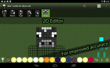 Skin Editor Tool for Minecraft Screenshot 7