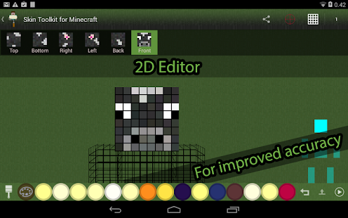 Skin Editor Tool for Minecraft Screenshot 7