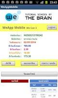 Screenshot of WeAppMobile