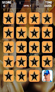 Wrestling Stars Memory Game - screenshot thumbnail