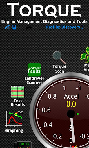 Landrover Fault Scanner