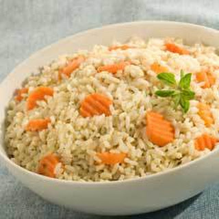 Herbed Carrot Rice.