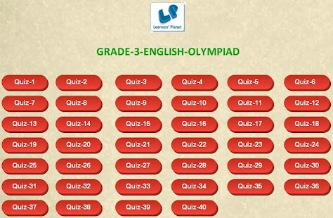 English Olympiad tests Grade-3 - Android Apps on Google Play