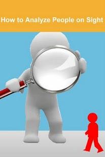 玩免費生活APP|下載How to Analyze People on Sight app不用錢|硬是要APP