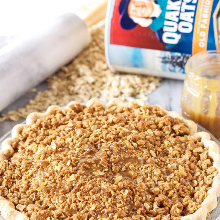 Caramel Apple Crumb Pie Recipe