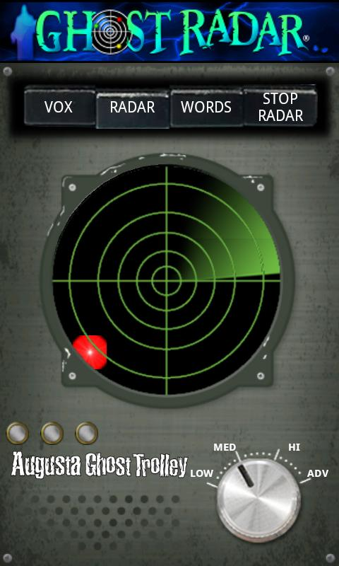 Ghost Radar®: TOUR- screenshot