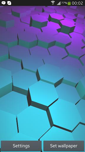 Honeycomb 3D Live Wallpaper Fr