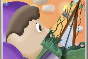 Screenshot of Thumbelina StoryChimes