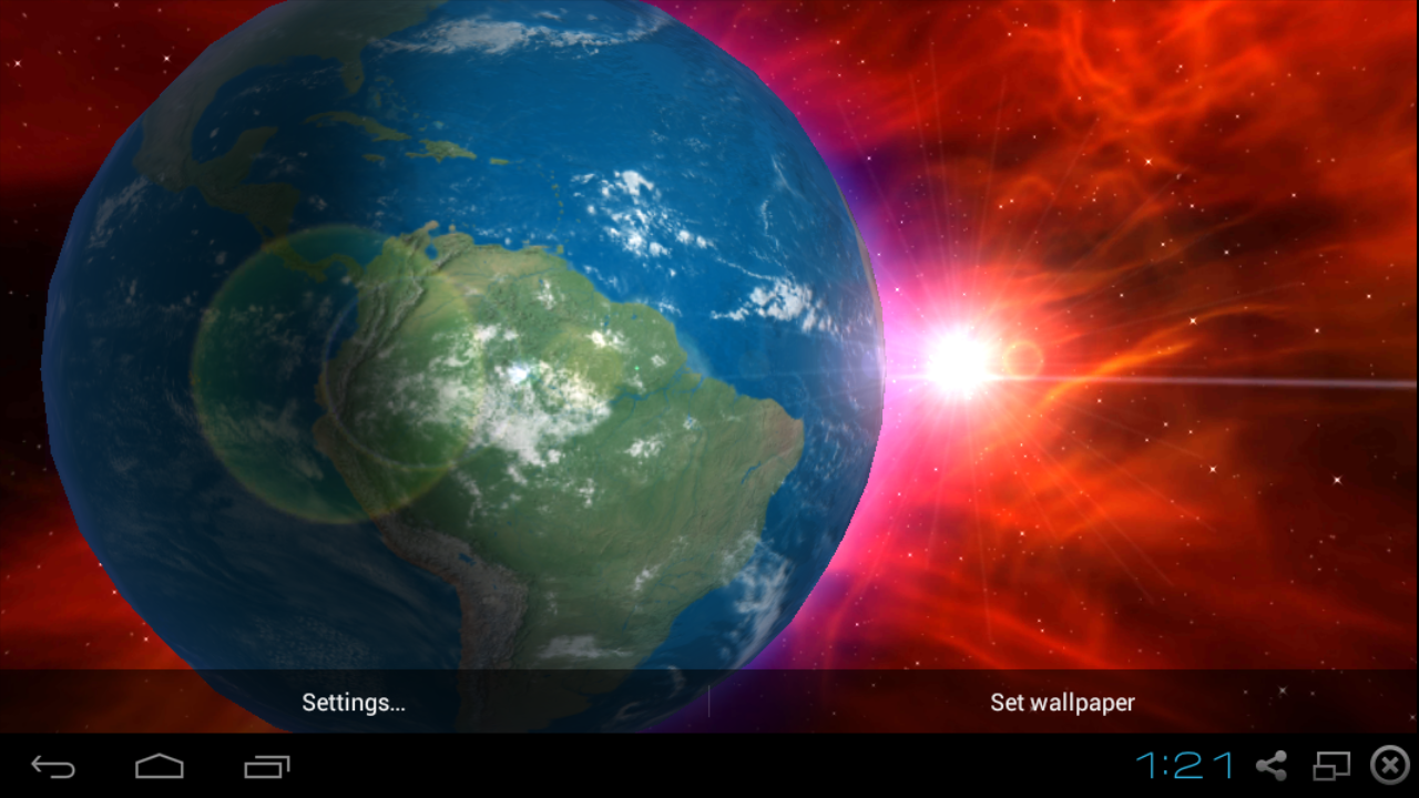 earth 3d hd live wallpaper android apps on google play
