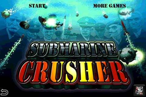 Submarine Crusher Free - screenshot