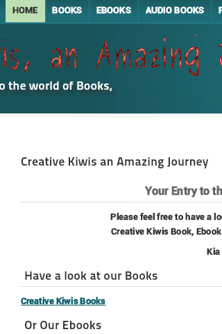 Creative Kiwis Ebooks Books