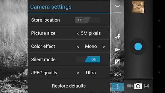 Camera ICS+- screenshot thumbnail