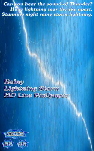 Rainy Lightning Grand Storm HD