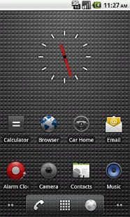 Transparent Clock - screenshot thumbnail