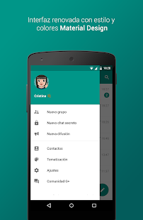 Plus Messenger: miniatura de captura de pantalla