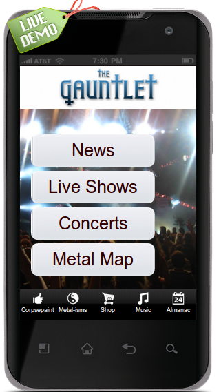 The Gauntlet - Heavy Metal - screenshot