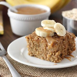 Peanut Butter Banana Bread Baked Oatmeal.