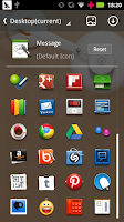 Screenshot of Desktop GO Launcher Theme