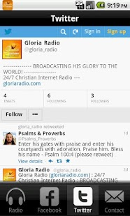 Gloria Radio- screenshot thumbnail