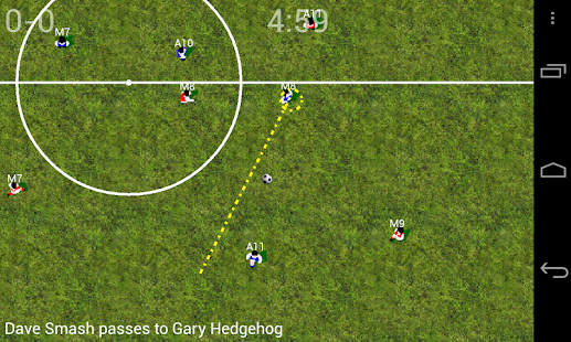 Soccer for Android (Lite) - screenshot thumbnail