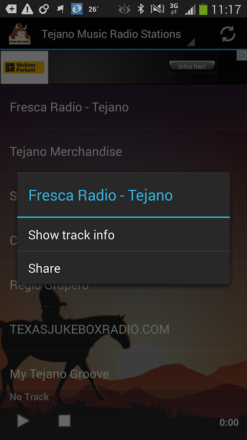 Tejano Music Radio Stations - screenshot