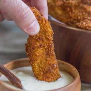 Extra Crispy Chicken Strips.