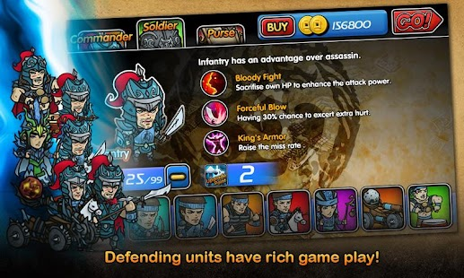 3 Kingdoms TD:Defenders' Creed - screenshot thumbnail