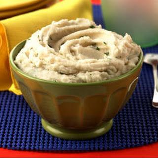 Roasted Garlic Mashed Potatoes.