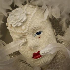 Beaded Woman by VAM Photography - Artistic Objects Still Life ( sculpture, woman.still life, art, beads,  )