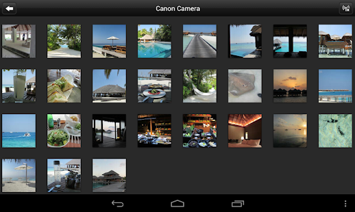 Canon CameraWindow - screenshot thumbnail