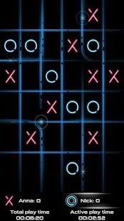 Tic Tac Toe Glow  PREMIUM - screenshot thumbnail