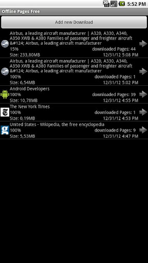 Offline Pages Free