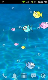 FishBowl Live Wallpaper - screenshot thumbnail