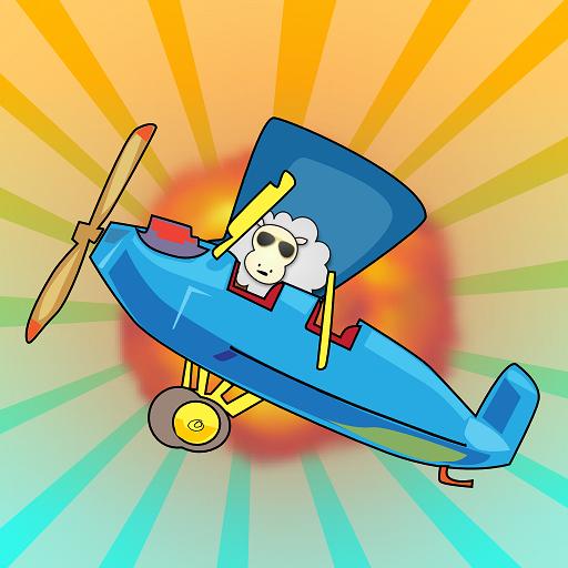 Retry: Flappy Plane 4 2 Thumbs 休閒 LOGO-阿達玩APP