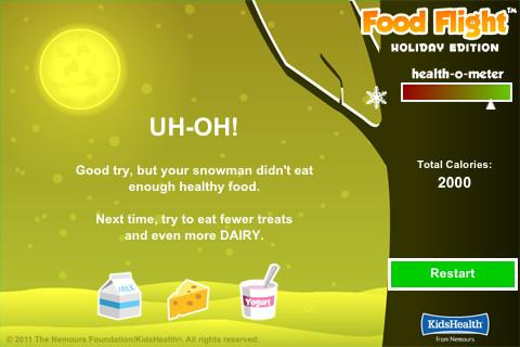 Food Flight - screenshot