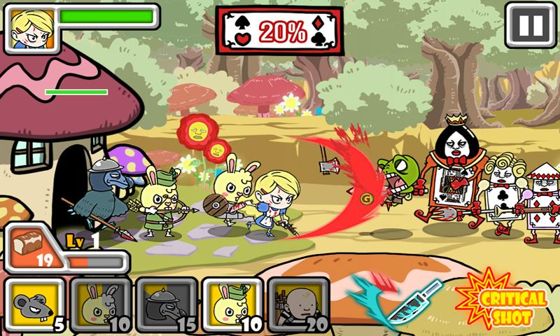 Bloody Alice Defense - screenshot