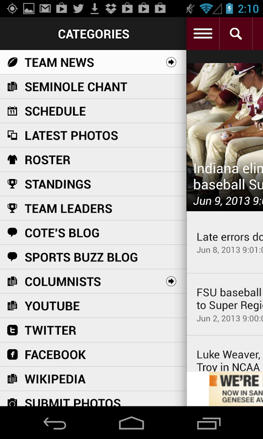 Noles Football - screenshot